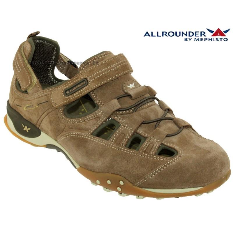 Allrounder TARANTINO Taupe velours sandale