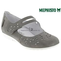 Mephisto Chaussures Mephisto Dora perf Gris clair cuir ballerine