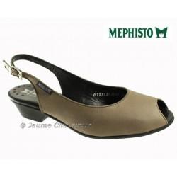 Mode mephisto Mephisto CORELIA Taupe nubuck escarpin
