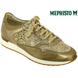 mephisto-chaussures.fr livre à Nîmes Mephisto Napolia Platine cuir basket-mode