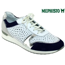 Mephisto Chaussures Mephisto Nadine Blanc/marine basket-mode