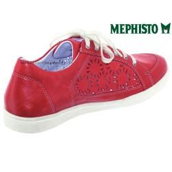 Mephisto Daniele perf Rouge cuir basket-mode