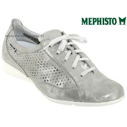 Mephisto Chaussures Mephisto Val perf Gris cuir basket-mode