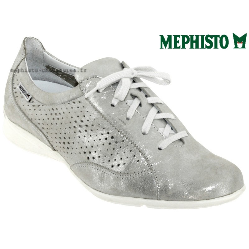 le pecq, Val_perf, Gris cuir chez www.mephisto-chaussures.fr (47626)