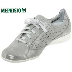 Mephisto Val perf Gris cuir basket-mode
