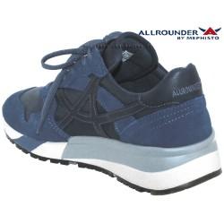 Allrounder Speed Jeans/Marine cuir basket-mode