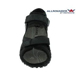Allrounder ROCK Noir cuir sandale