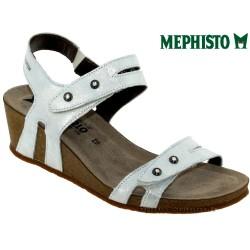 mephisto-chaussures.fr livre à Andernos-les-Bains Mephisto MINOA Gris clair sandale