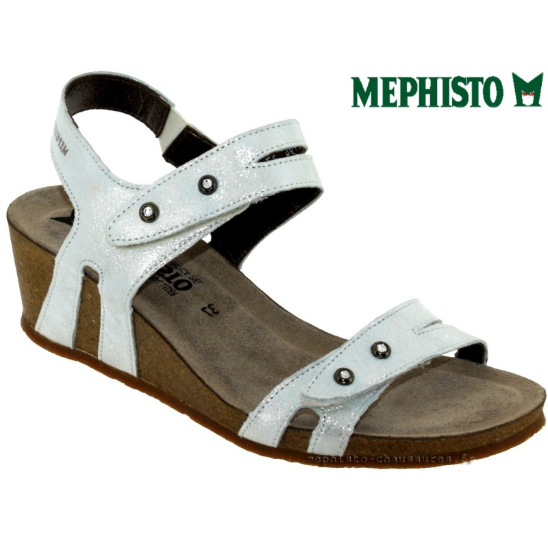 Mephisto MINOA Gris clair sandale