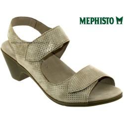 Sandale femme Méphisto Chez www.mephisto-chaussures.fr Mephisto Cecila Beige sandale