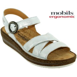 Mode mephisto Mobils Lucie Gric clair cuir nu-pied