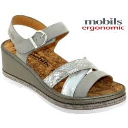 Chaussures femme Mephisto Chez www.mephisto-chaussures.fr Mobils Benita Gris cuir nu-pied