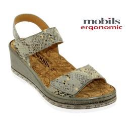 Chaussures femme Mephisto Chez www.mephisto-chaussures.fr Mobils Betanie Gris cuir nu-pied