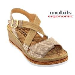 mephisto-chaussures.fr livre à Montpellier Mobils Bella Beige cuir nu-pied