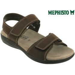 Sandale Méphisto Mephisto SIMON Marron cuir sandale