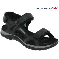 mephisto-chaussures.fr livre à Guebwiller Allrounder Larisa Noir lisse nu-pied
