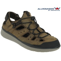 Méphisto sandale Homme Chez www.mephisto-chaussures.fr Allrounder Maroon Taupe cuir sandale