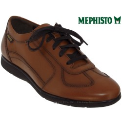 mephisto-chaussures.fr livre à Gravelines Mephisto Leonzio Marron clair cuir lacets