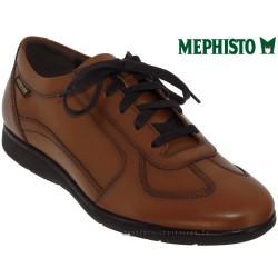 mephisto-chaussures.fr livre à Paris Lyon Marseille Mephisto Leonzio Marron clair cuir lacets