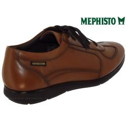 Mephisto Leonzio Marron clair cuir lacets