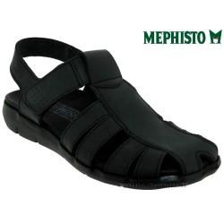mephisto-chaussures.fr livre à Besançon Mephisto Cesar Noir cuir sandale