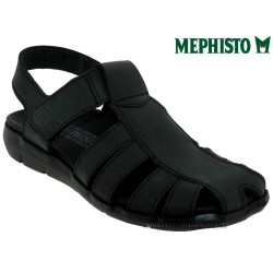mephisto-chaussures.fr livre à Oissel Mephisto Cesar Noir cuir sandale