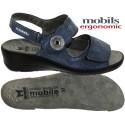 Mobils JISSY Bleu jeans cuir sandale