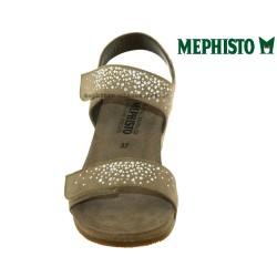 Mephisto Maria spark Beige velours sandale