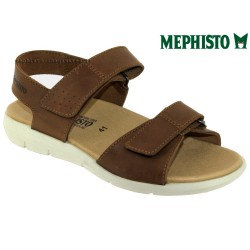 mephisto-chaussures.fr livre à Cahors Mephisto Corado Marron cuir nu-pied