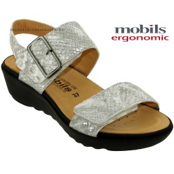 Mephisto Chaussure Mobils Folina Gris cuir nu-pied