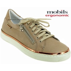 Boutique Mephisto Mobils Elorine Beige cuir lacets