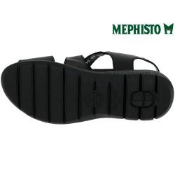 Mephisto Katline Noir cuir nu-pied