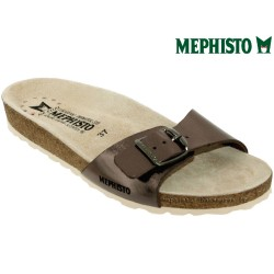 Mephisto Chaussure Mephisto Nanouchka Taupe cuir mule