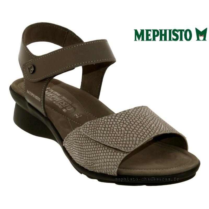 Mephisto Pattie Taupe cuir sandale