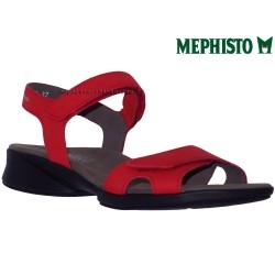 mephisto-chaussures.fr livre à Ploufragan Mephisto Francesca Rouge nubuck sandale