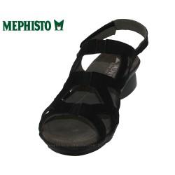 Mephisto Pamela Noir nubuck sandale
