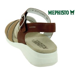Mephisto Klarissa Marron/doré cuir nu-pied