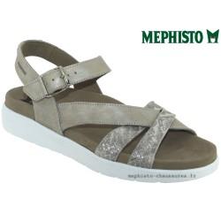 Mode mephisto Mephisto Odelia Taupe cuir nu-pied