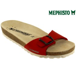 mephisto-chaussures.fr livre à Cahors Mephisto Nanouchka Rouge nubuck mule