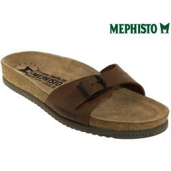 mephisto-chaussures.fr livre à Gravelines Mephisto Nilos Marron cuir claquette