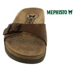 d377edec11a433 Mephisto Nilos Marron cuir Claquette Pointure 39