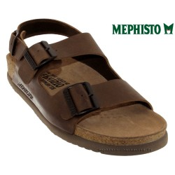 mephisto-chaussures.fr livre à Paris Mephisto Nardo Marron cuir nu-pied