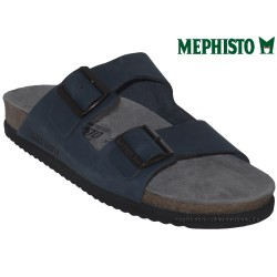 Mephisto Chaussure Mephisto NERIO Marine nubuck mule