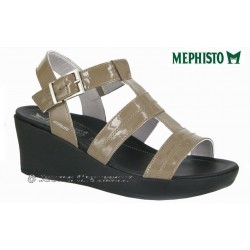 Chaussures femme Mephisto Chez www.mephisto-chaussures.fr Mephisto PARZIA Beige verni sandale