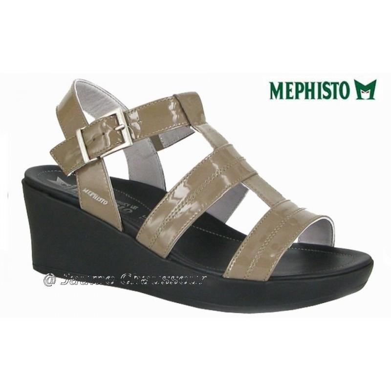 chaussures Femme MEPHISTO PARZIA Beige verni 5267