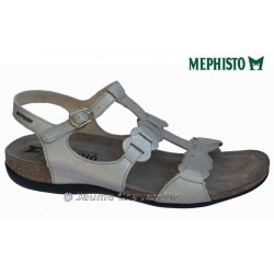 SANDALE FEMME MEPHISTO Chez www.mephisto-chaussures.fr Mephisto AXEL Beige cuir sandale