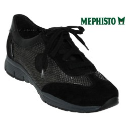 mephisto-chaussures.fr livre à Paris Lyon Marseille Mephisto YAEL Noir velours basket_mode_basse
