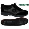Mephisto YAEL Noir velours basket_mode_basse