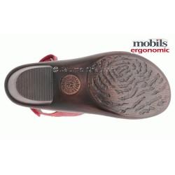 MOBILS de Mephisto Femme Sandale DIONIZA Rouge cuir 5373
