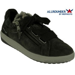 Allrounder Ma bella Gris velours lacets_derbies